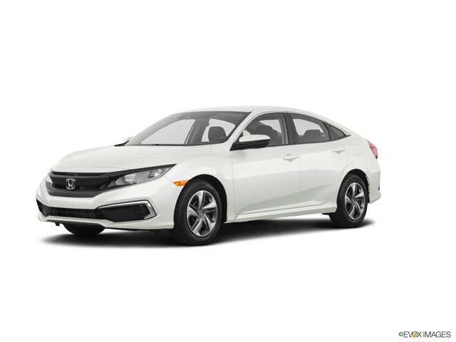 New 2020 Honda Civic 2.0 L4 LX CVT