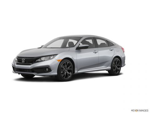 New 2020 Honda Civic 2.0 L4 SPORT CVT