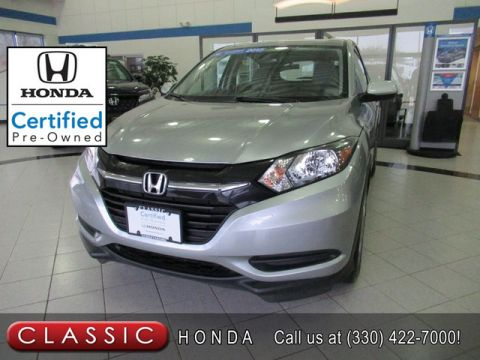 Certified Pre-Owned 2017 Honda HR-V LX AWD