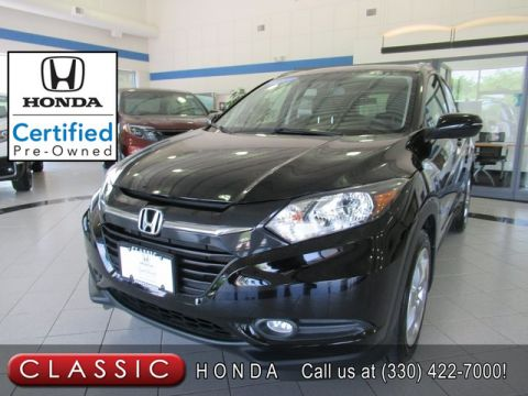 Certified Pre-Owned 2017 Honda HR-V EX-L with NAVIGATION AWD