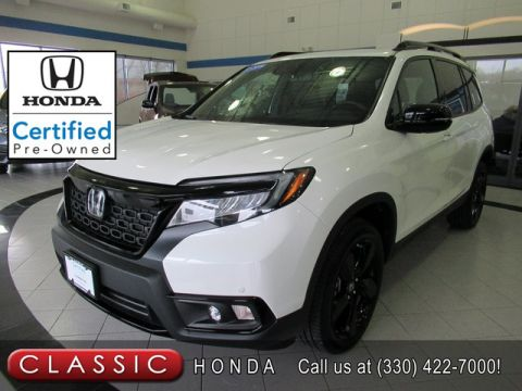 Certified Pre-Owned 2019 Honda Passport ELITE AWD